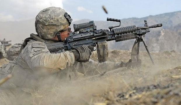 14. Machine Gun
