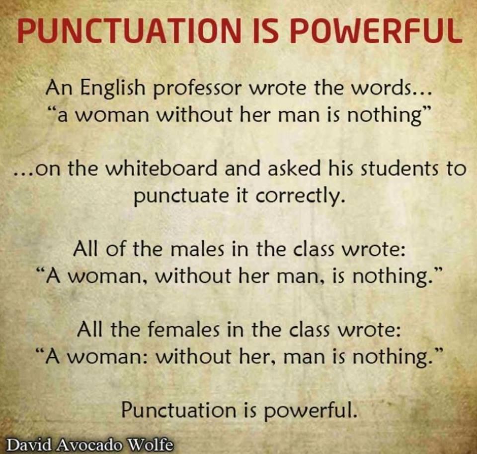 Punctuation 6
